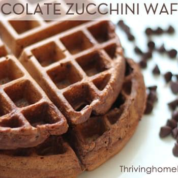 Sneaky Chocolate Waffles
