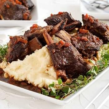 Gluten Free Cherry Cola Bourbon Braised Ribs