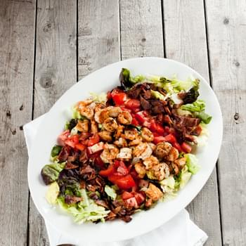 Shrimp BLT Salads