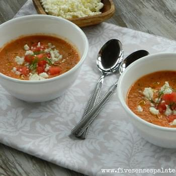 Chilled Summer Soup – Gazpacho