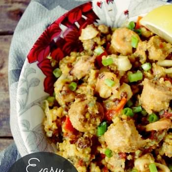Easy Slow-Cooker Paella (gluten free!)