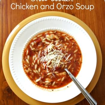 Recipe for Slow Cooker Chicken and Orzo Soup