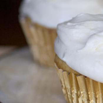 Ginger Cupcakes with Ginger Cream Cheese Frosting