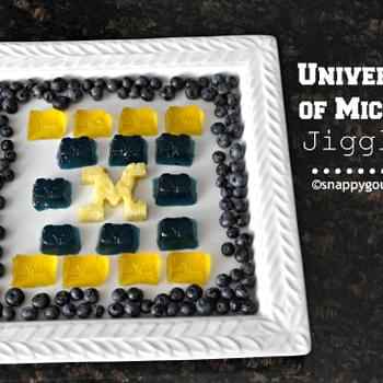 University of Michigan JIGGLERS - Game Day Food!