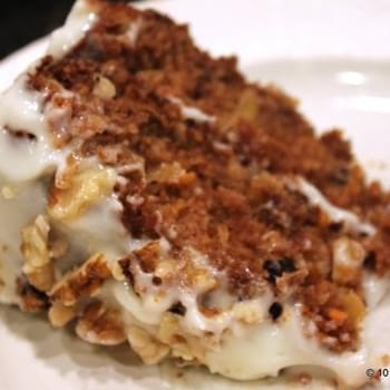 Healthier Low Fat Carrot Cake