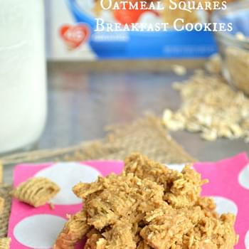 {No Bake} Quaker®Oatmeal Squares Breakfast Cookies