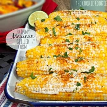 (Skinny) Mexican Grilled Corn