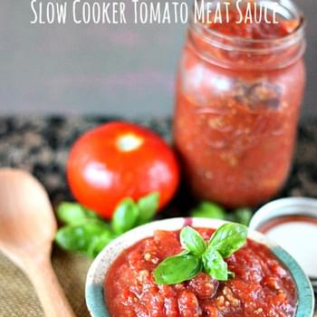 Slow Cooker Tomato Meat Sauce
