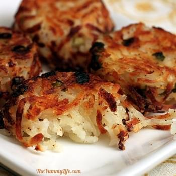 Parmesan Hash Brown Cups