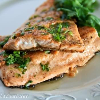 Trout with Parsley and Lemon Butter
