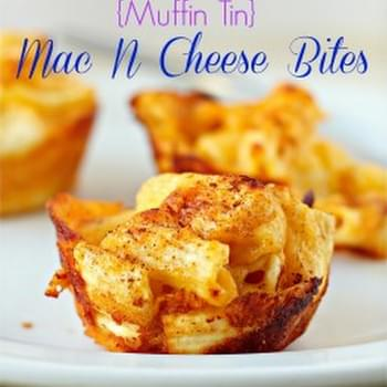 Muffin Tin Mac N Cheese Bites