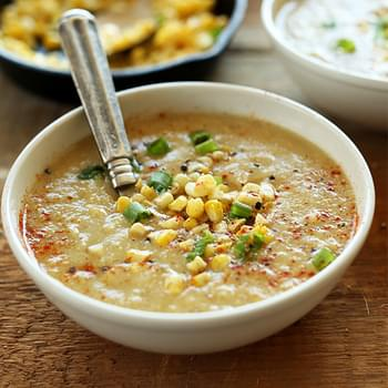Simple Summer Corn Soup