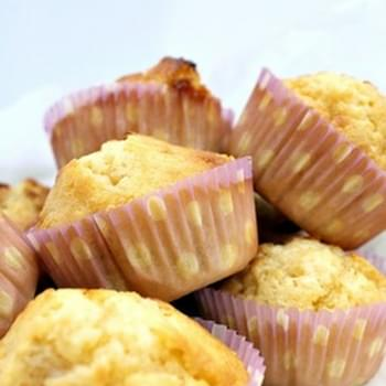 White Chocolate and Macadamia Muffins
