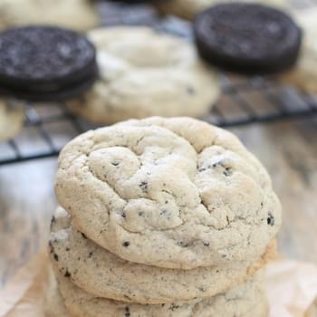 Soft Cookies and Cream Cookies