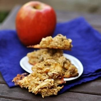 Apple Gouda Oatmeal Cookies