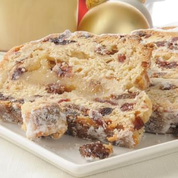 Christmas Stollen Sweet Bread