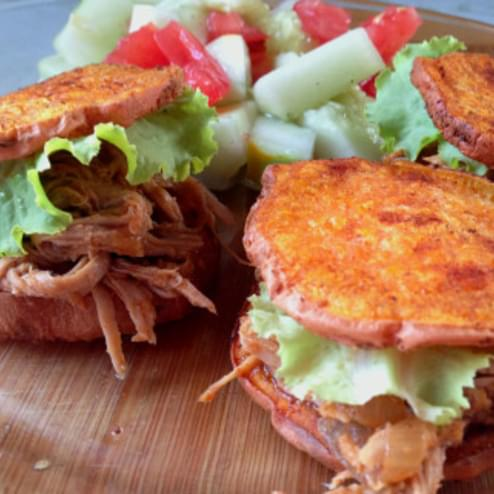 Paleo Pulled Pork Sliders