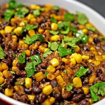 Frijoles con Elote (Corn and Beans)