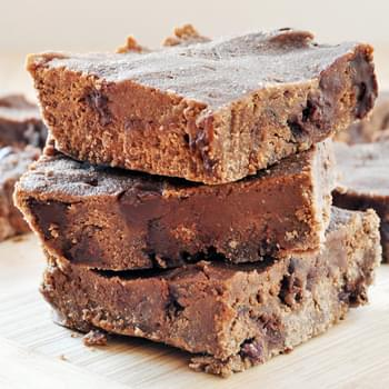 Sweet Potato Chocolate Fudge Brownies, Vegan + Gluten-Free