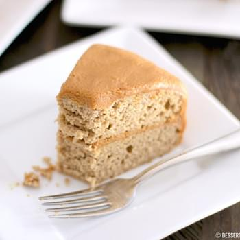 Healthy Gluten Free Maple Cake (made low fat & refined sugar free!)