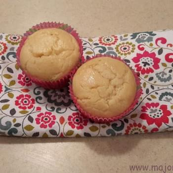 Light Lemon and Honey Yogurt Tea Muffins