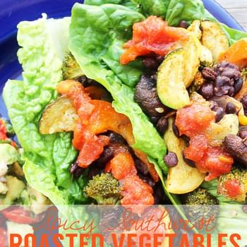 Spicy Southwest Roasted Vegetables