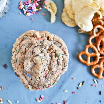 Crazy Confetti Compost Cookies