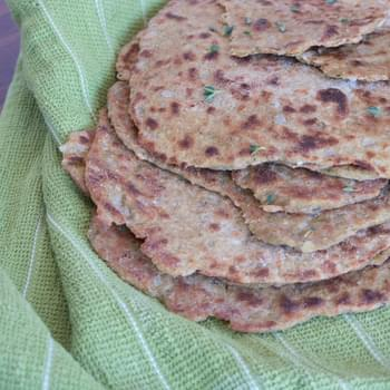 Zucchini, Thyme and Onion Flatbread