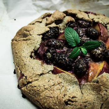 Rustic Stone-Fruit Galette
