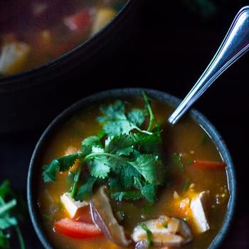 Hot and Sour Vietnamese Soup with Tamarind