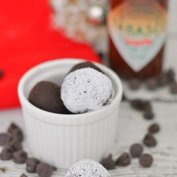 Chipotle Chocolate Truffles