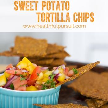 Sweet Potato Tortilla Chips (Paleo)