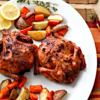 lndian Roasted Cornish Hens