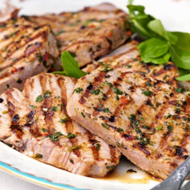 Tuna Steaks With Chermoula