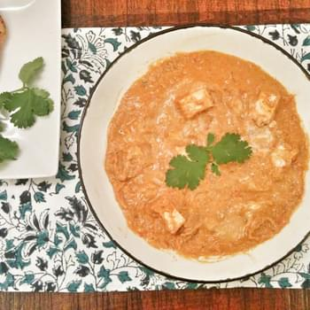 Veganized Indian Butter Chicken (Murgh Makhani)