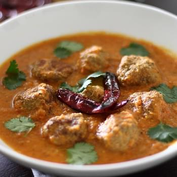 Spicy Indian Kofta (Meatball) Curry