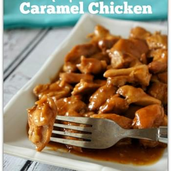 CrockPot Caramel Chicken
