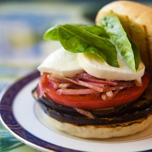 Grilled Eggplant Sandwich
