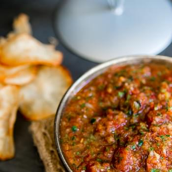 The Best Homemade Restaurant Style Salsa