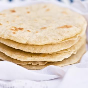 Bacon Fat Flour Tortillas