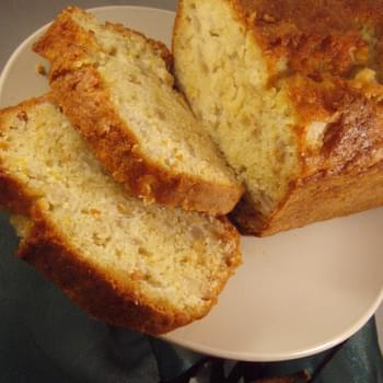 Fresh Ginger-Pear Quick Bread