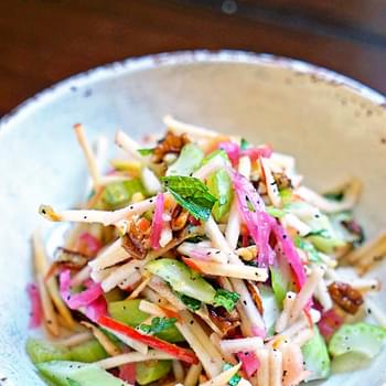 Matchstick Apple and Celery Salad
