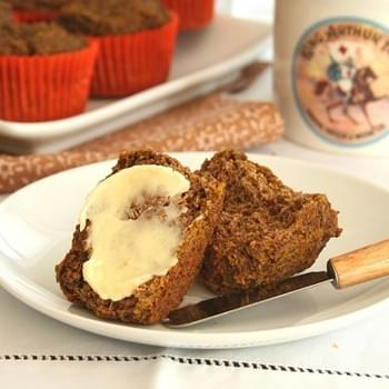 "Pumpkin ""Bran"" Muffins – Low Carb and Gluten-Free"