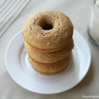 Whole Wheat Baked Dounuts