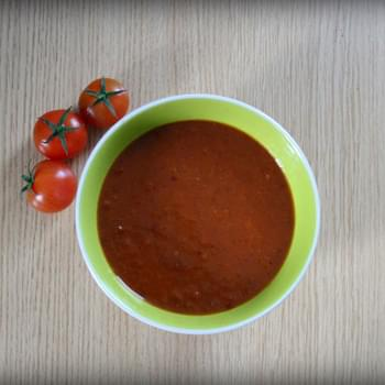Roast Tomato, Chilli And Cumin Soup