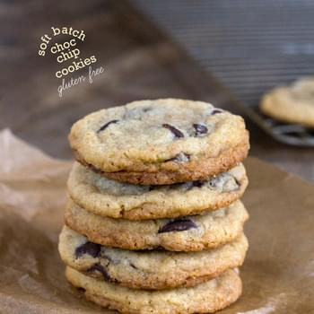 Gluten Free Soft Batch Chocolate Chip Cookies