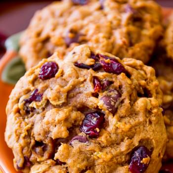 Favorite Pumpkin Oatmeal Cookies.