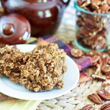 Completely Sugar Free / High Protein Pumpkin Oatmeal Cookies