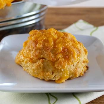 Cheddar Beer Drop Biscuits
