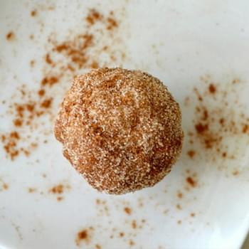 Whole Wheat Cinnamon Sugar Donut Hole